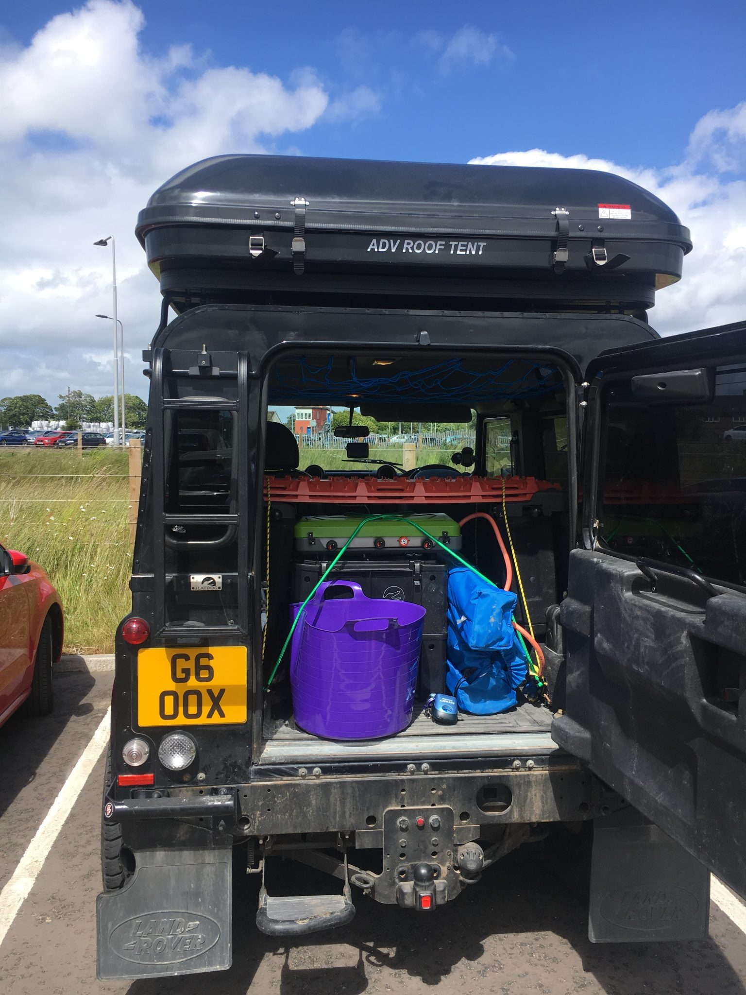 Defender Wild Camping | Short Stay St Andrews